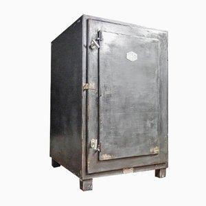 Industrial Black Safe Cabinet frin Ehret, 1930s