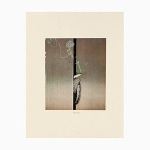 Sergio Barletta, fumer, collage, 1975