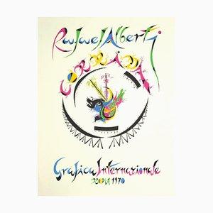 Rafael Alberti - Rafael Alberti - International Graphics - Lithographie - 1970