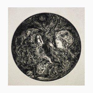 Gian Paolo Berto - Moses - Original Radierung - 1974