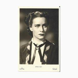 Mario Alberto Lattuada - Tarjeta de Año Nuevo firmada y fechada por M. De Matteis - 1941