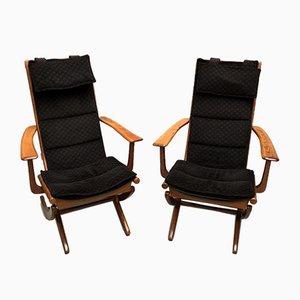 Scandinavian Lounge Chairs, 1950s, Set of 2