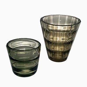 Vasen von Elis Bergh für Kosta, 1930er, 2er Set