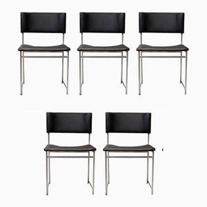 Chaises de Salon SM08 par Cees Braakman pour Pastoe, 1950s, Set de 5