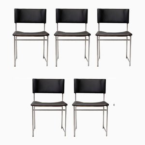 SM08 Dining Chairs by Cees Braakman for Pastoe, 1950s, Set of 5
