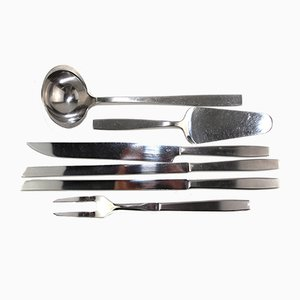 Model 2050 Serving Set by Helmut Alder for Amboss, 1954, Set of 6