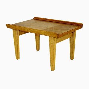 Swedish Oak Stool from Ikea, 1960s