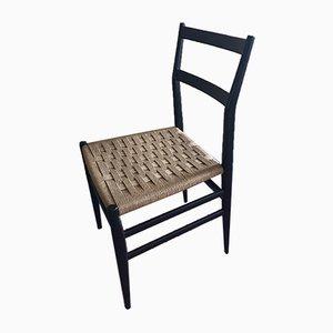 Chaise de Salle à Manger par Gio Ponti pour Cassina, 1950s
