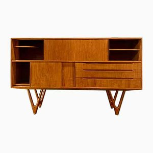 Mid-Century Model 55 Sideboard by Kurt Østervig for Randers Møbelfabrik