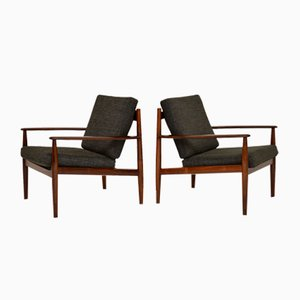 Danish Armchairs by Grete Jalk, 1960s, Set of 2