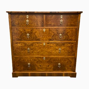 Burr Walnut Chest of Drawers
