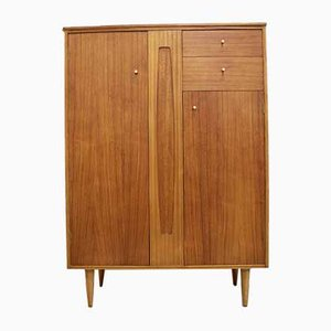 Teak Compact Wardrobe from White and Newton, 1960s