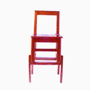 Sgabello rosso alto - Made in China, Copied by the Dutch di Studio Wieki Somers, 2007