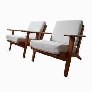 Modell GE-290 Sessel von Hans J. Wegner für Getama, 1960er Jahre, 2er-Set