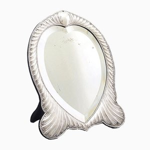 Antique Silver Dressing Table Mirror from William Comyns, 1893