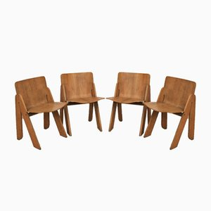 Dining Chairs by Gigi Sabadin for Stilwood, 1970s, Set of 4
