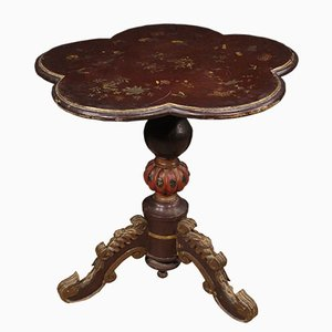 French Flower Shaped Side Table
