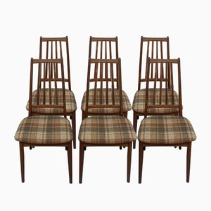Dining Chairs by A M Danish for AWA Meubelfabriek, 1960s, Set of 6