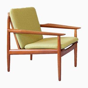 Mid-Century Teak Lounge Chair by Arne Vodder for Glostrup, 1960s