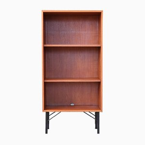Mid-Century Teak Standing Bookcase, 1960s