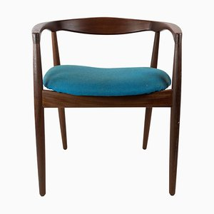 Model Troja Armchair in Rosewood by Kai Kristiansen, 1960s