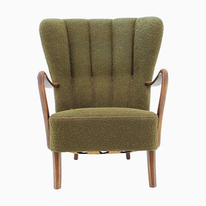 Danish Wing Chair, 1940s