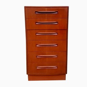 Mid-Century Teak Fresco Chest Drawers from G-Plan