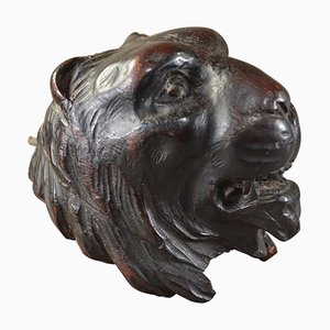 Fine English Antique Lions Head Corbel