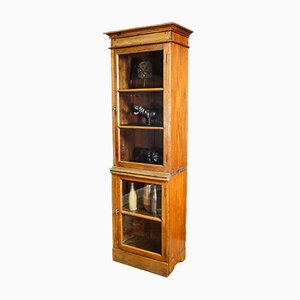 Antique High Two-piece Showcase - Early 1900