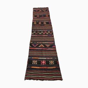 Türkischer Vintage Kilim Teppich Läufer