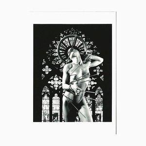Plinio Martelli - Saint-Sébastien - Photographie N / B originale - Années 90