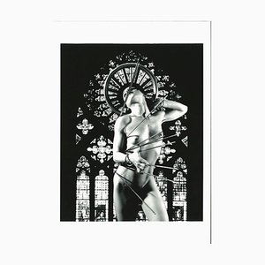 Plinio Martelli - St. Sebastian - Fotografia originale B / N - anni '90