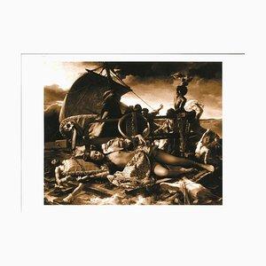 Plinio Martelli - la méduse - photographie originale N / B - années 90