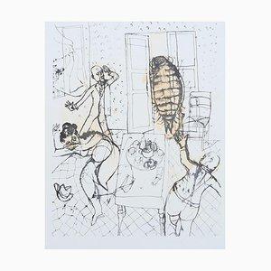 Franco Gentilini - Metamorphosis - Original Offset - 1970s
