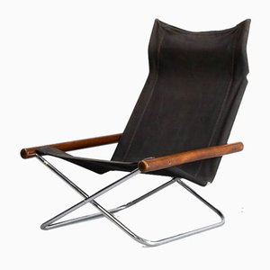 NY Chair X Folding Chair by Takeshi Nii for Jox Interni, 1950s