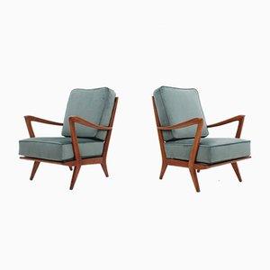 Armlehnstühle von Gio Ponti für Cassina, 1950er, 2er Set