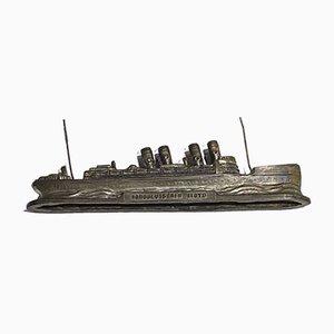 Crown Princess Cecilie Ship Model, North German Lloyd, 1910s