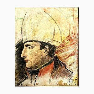 French School, Blood Contained Napoleon Bonaparte, Drypoint