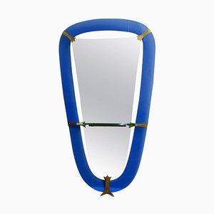Großer Spiegel von Cristal Art, 1950er