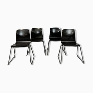 Thur Op Chairs from Galvanitas, 1970s, Set of 4