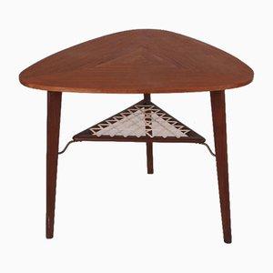 Table Basse Moderne en Teck par Holger Georg Jensen pour Kubus, Danemark, 1960s
