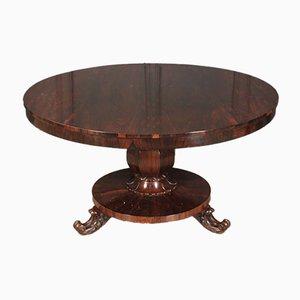 Table à manger ronde en palissandre