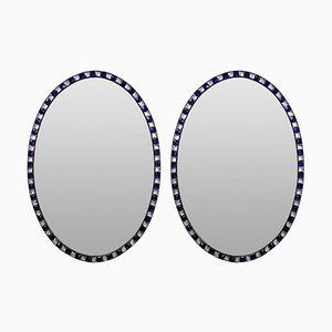 Stud Framed Mirrors, 1970er Jahre, 2er-Set