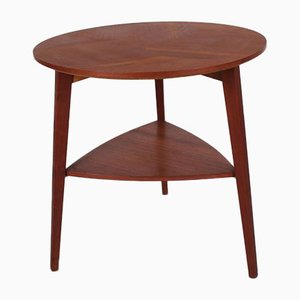 Mid-Century Teak End Table by Holger Georg Jensen for Kubus, 1960s
