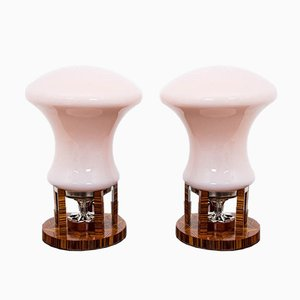 Tischlampen im Art Deco Stil, 1990er, 2er Set