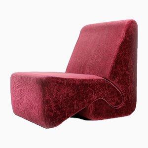 Velvet Lounge Chairs von Ivan Matusik, Tschechoslowakei, 1970