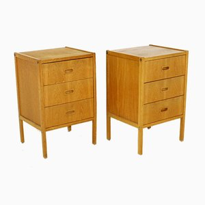 Bedside Tables by Bertil Fridhagen for Bodafors, Sweden, 1960s, Set of 2