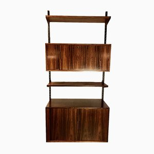 Danish Rosewood Wall Shelf from FM Møbler, 1960s