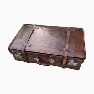 Koffer aus Leder, 1950er