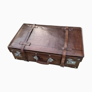 Leather Suitcase, 1950s
